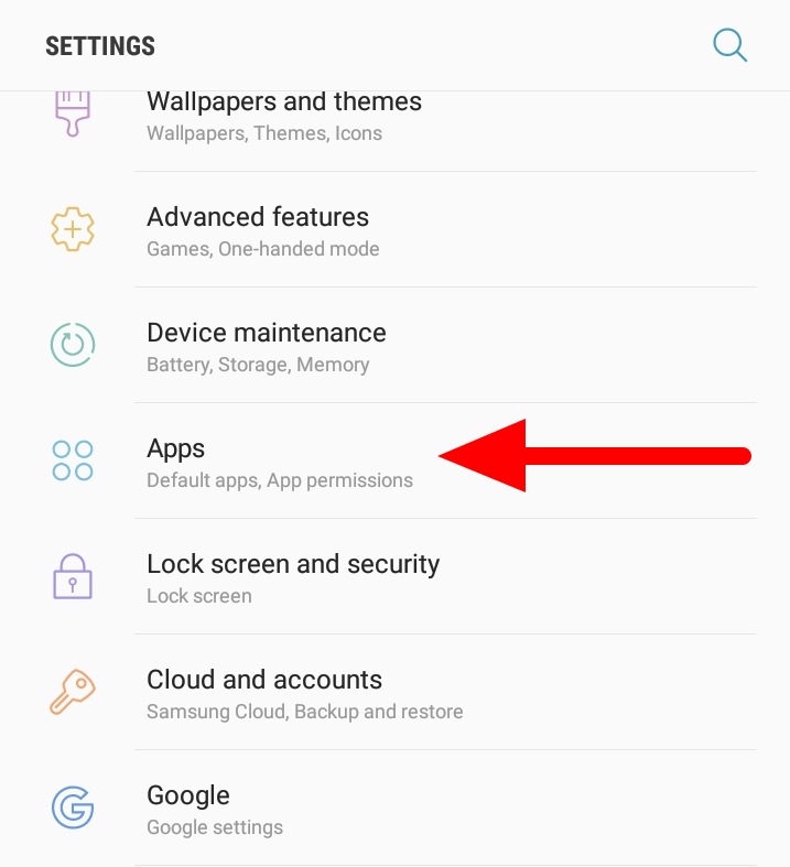 Samsung Keyboard Keeps Stopping - Open Apps