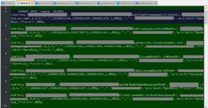عينات من قواعد البيانات المسروقة (حقوق الصورة: ZDNet)