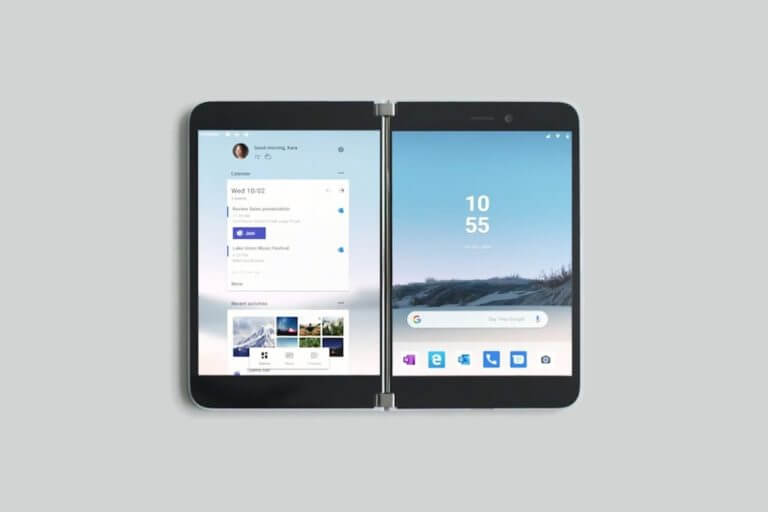 Microsoft Surface Duo Foldable Phone Specs Reach the Public