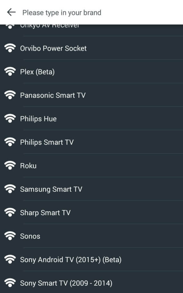 Universal Remote Apps for Android - Anymote Devices