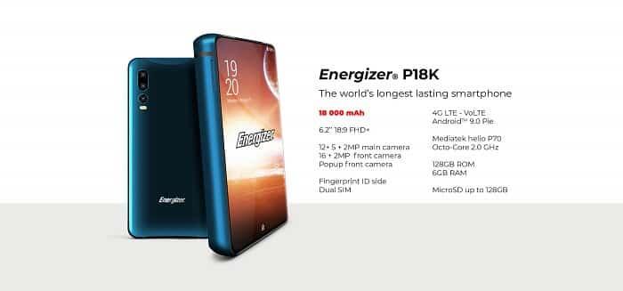 Worst Smartphones Ever - Energizer Power Max P18K