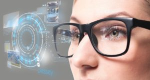 Smart glasses display alerts right before your eyes