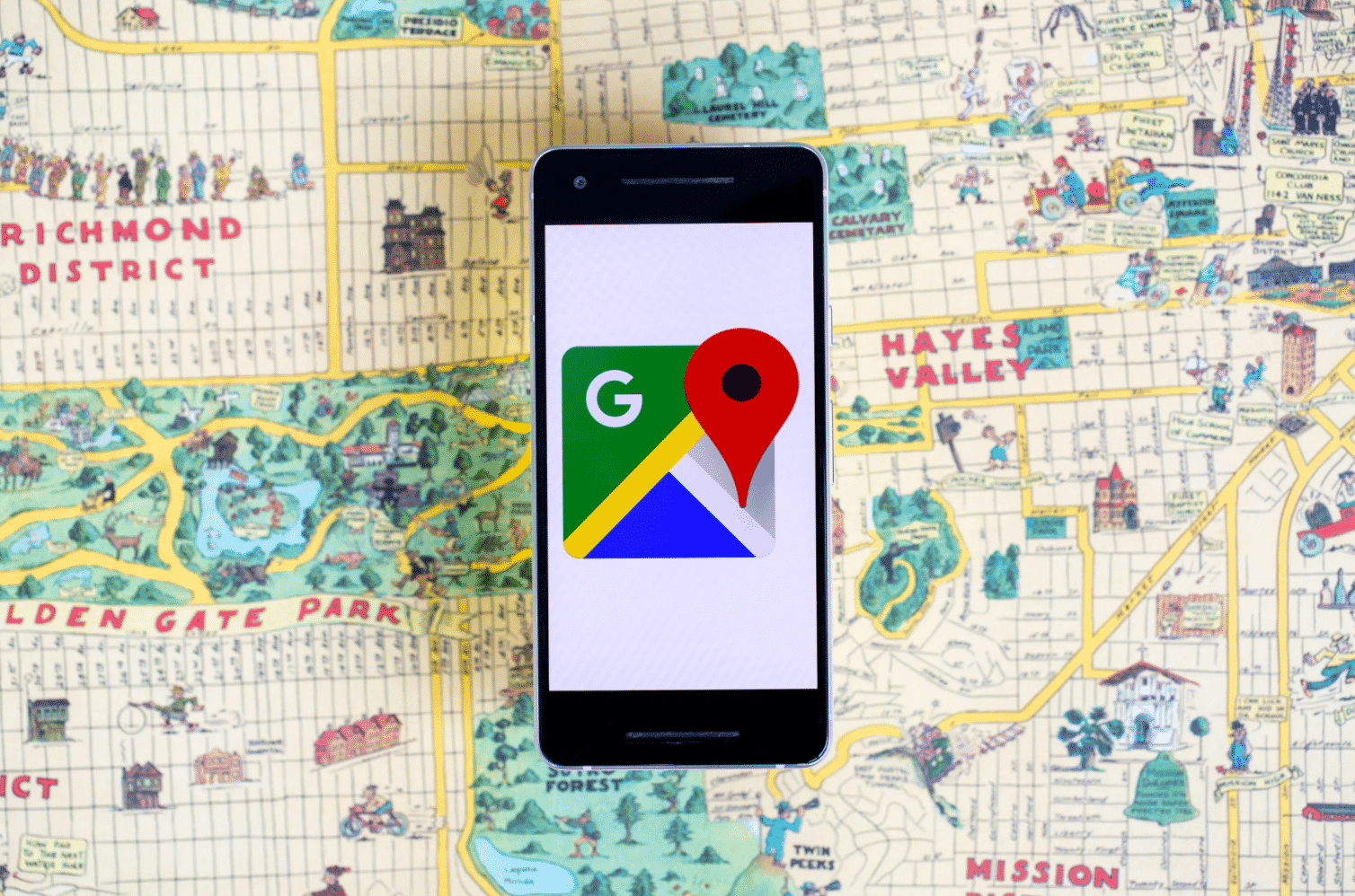 Google Maps adds COVID-19 alerts on public transit and travel information
