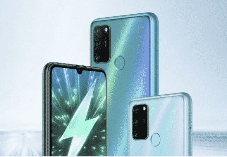 Honor 9A features a triple rear camera setup