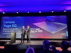 Lenovo revealed the Flex 5G during the CES 2020