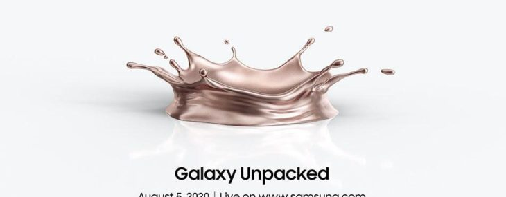 Samsung will unveil new flagship smartphones this August 5th in virtual Unpacked event