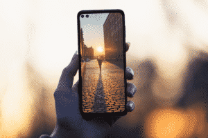 One 5G features two front-facing cameras