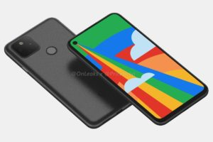 Leaked Pixel 5 design and features