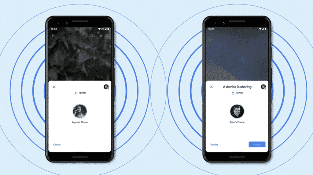 AirDrop for Android – how to use it Nearby Share