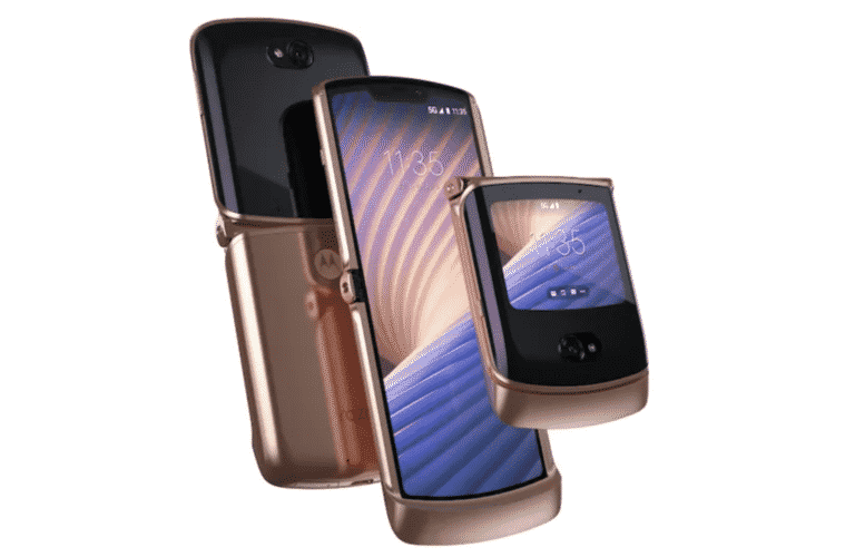 Motorola reveals a new foldable Razr with 5G support