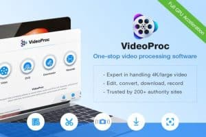 VideoProc easily and quickly mergers large-sized videos