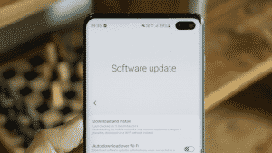 Samsung rolled out not just but two software updates
