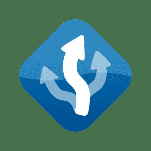 MapFactor GPS logo