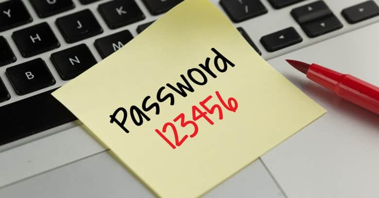 List of most common passwords in 2020