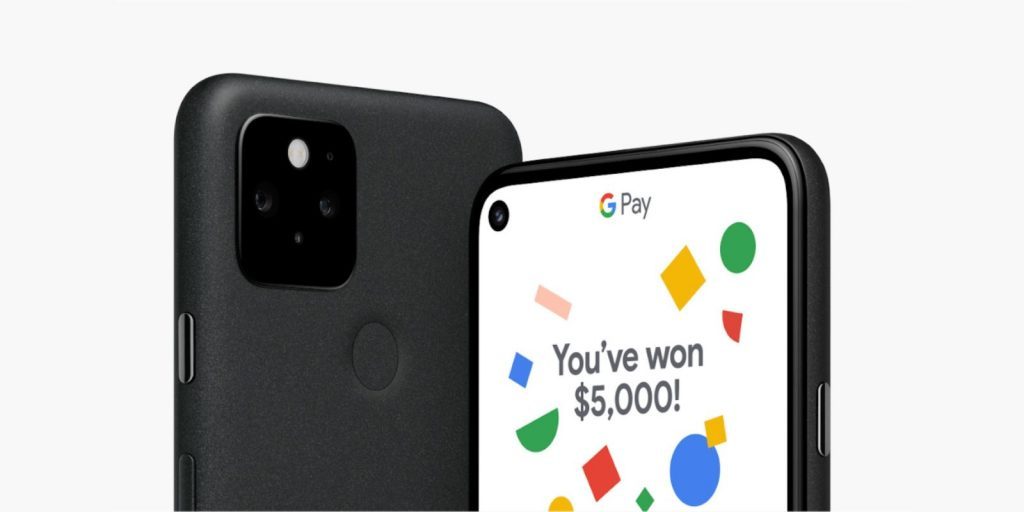 Get a chance to win $5,000 from Google when you buy a Pixel 5