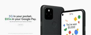 A brand new phone and $5,000