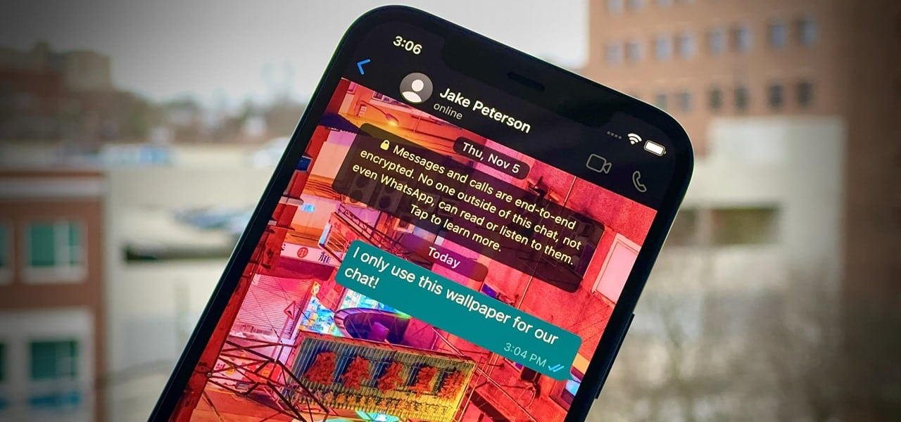 WhatsApp now lets you set custom wallpapers for individual chats