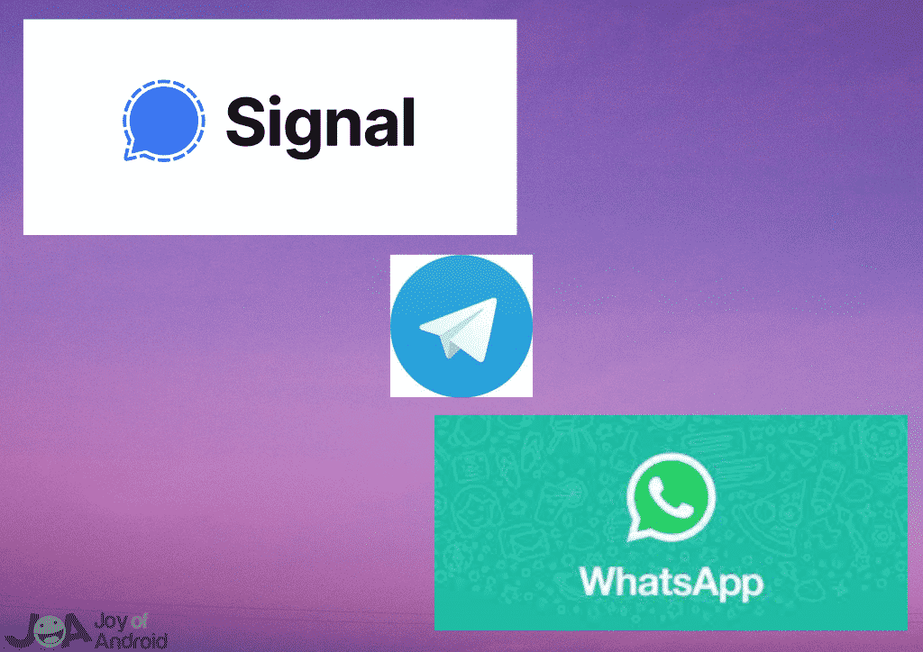 Signal vs WhatsApp vs Telegram