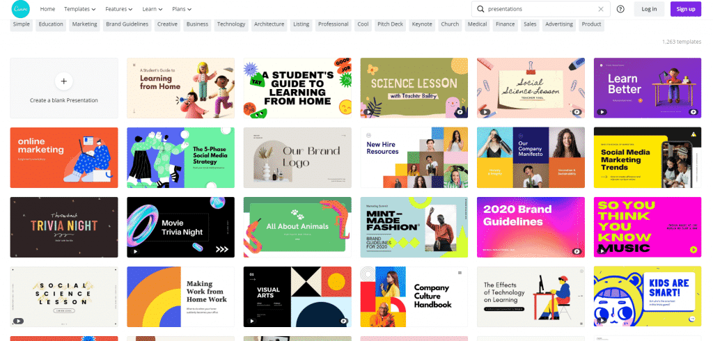 How to Use Canva: Presentations