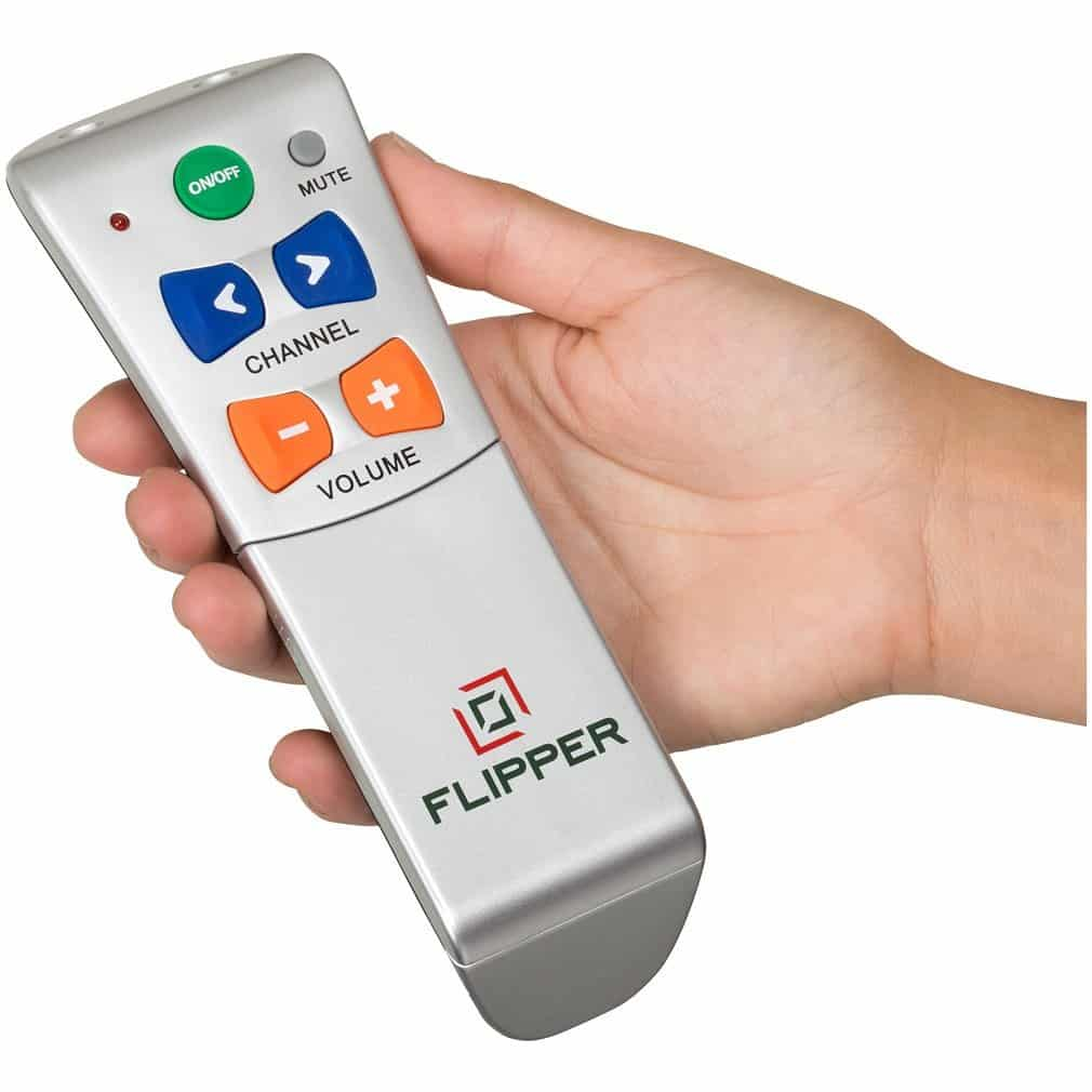 Remote for the elderly or visually impaired