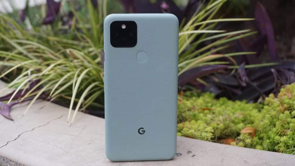 Pictured above is the Pixel 5