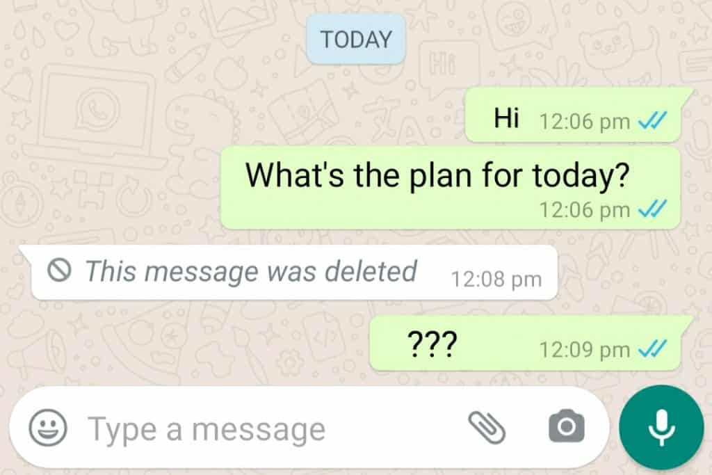 How to read deleted WhatsApp messages on Android?