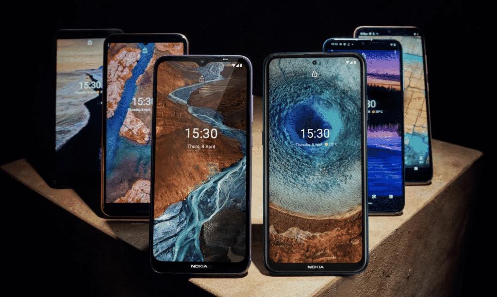 Nokia smartphones lineup