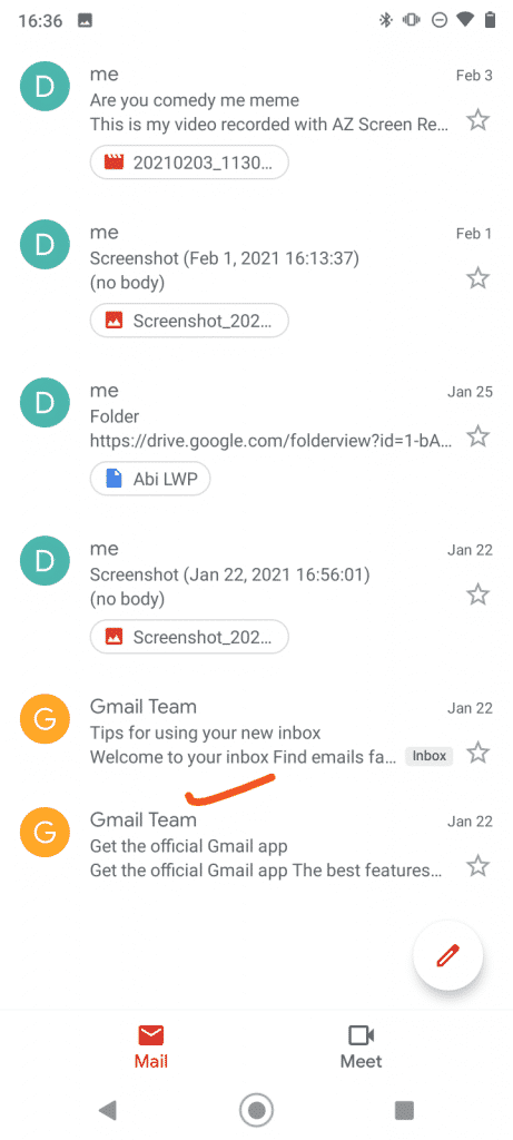 all mail label in gmail