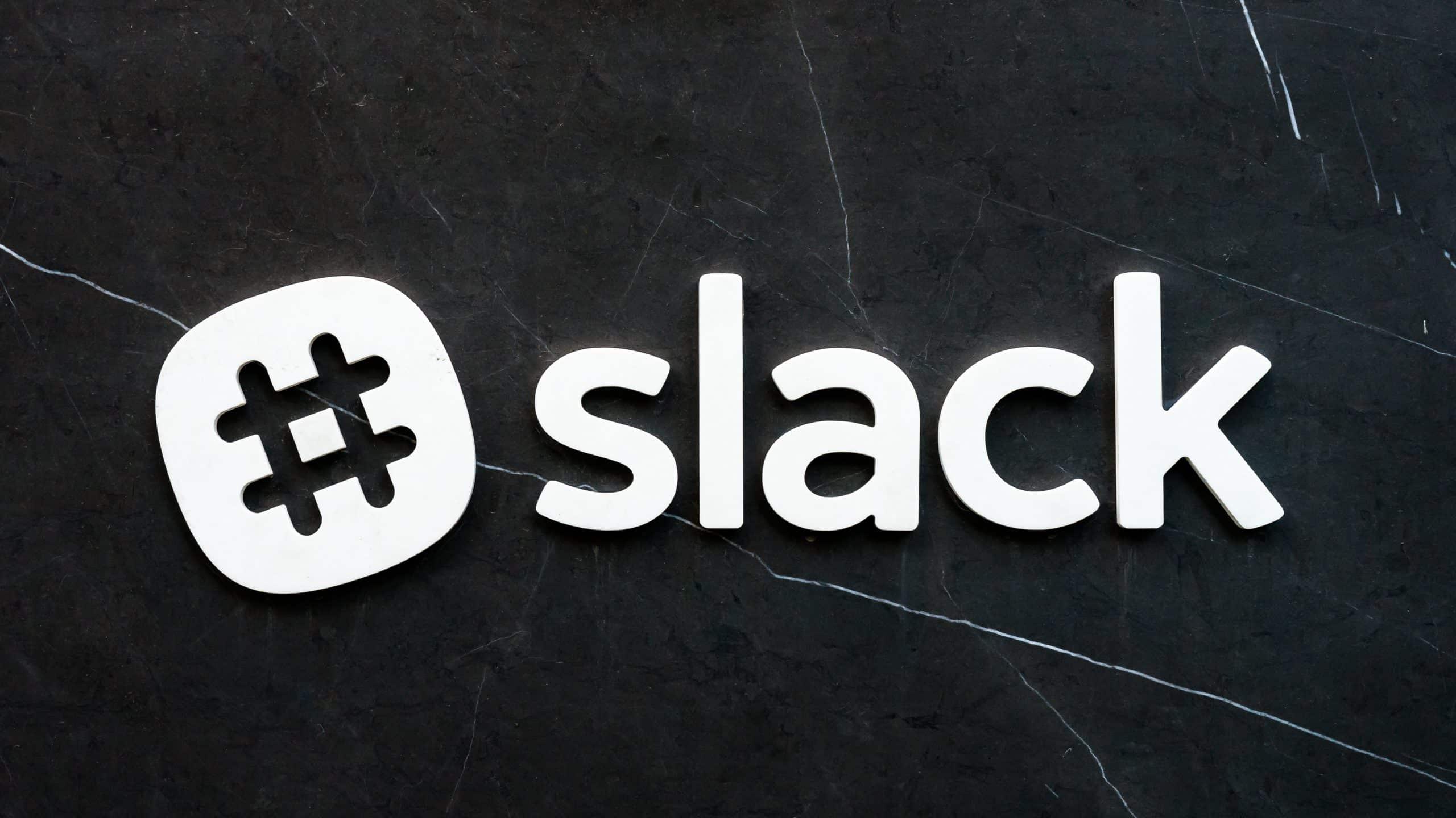 Slack app on Android