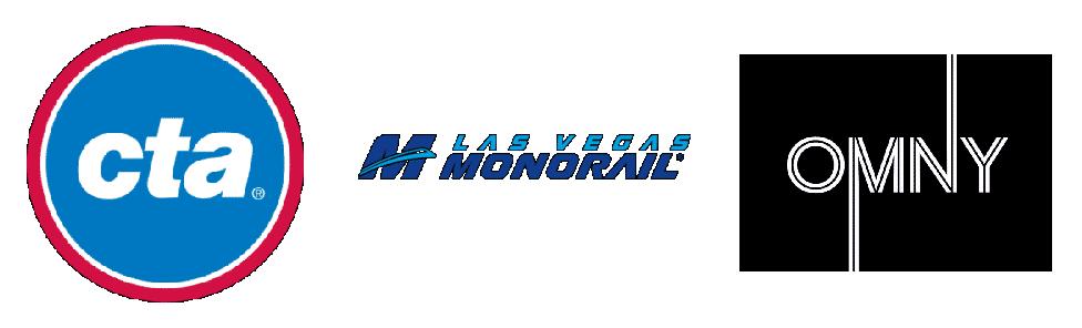 American Transit Agencies Logos