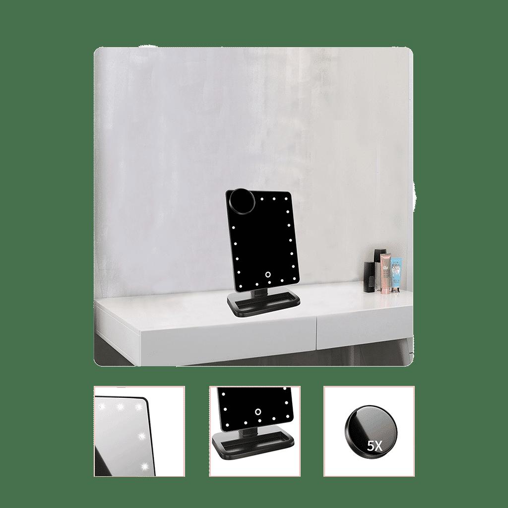hansong vanity bluetooth mirror