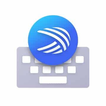 Microsoft SwiftKey Keyboard app logo