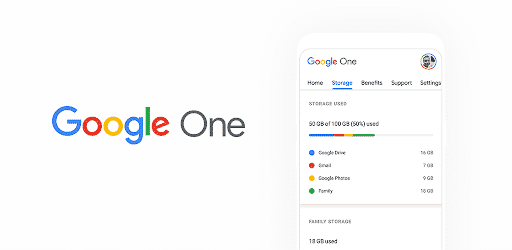 Users are encouraged to sign up for Google One