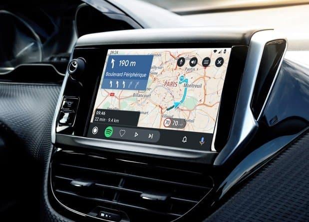 Android Auto UI updates