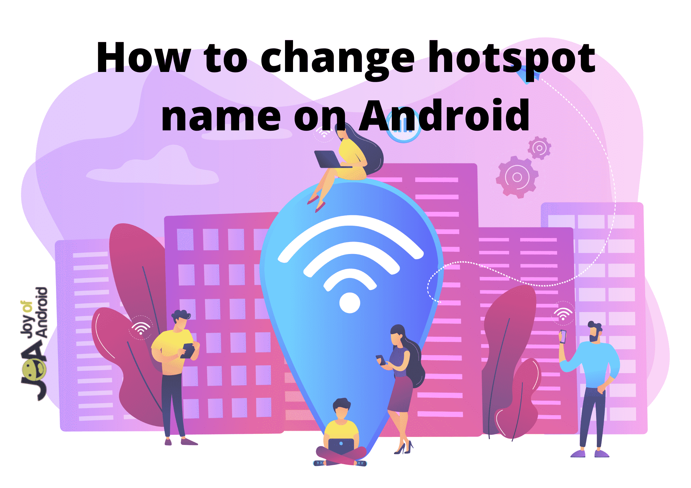 change hotspot name on android