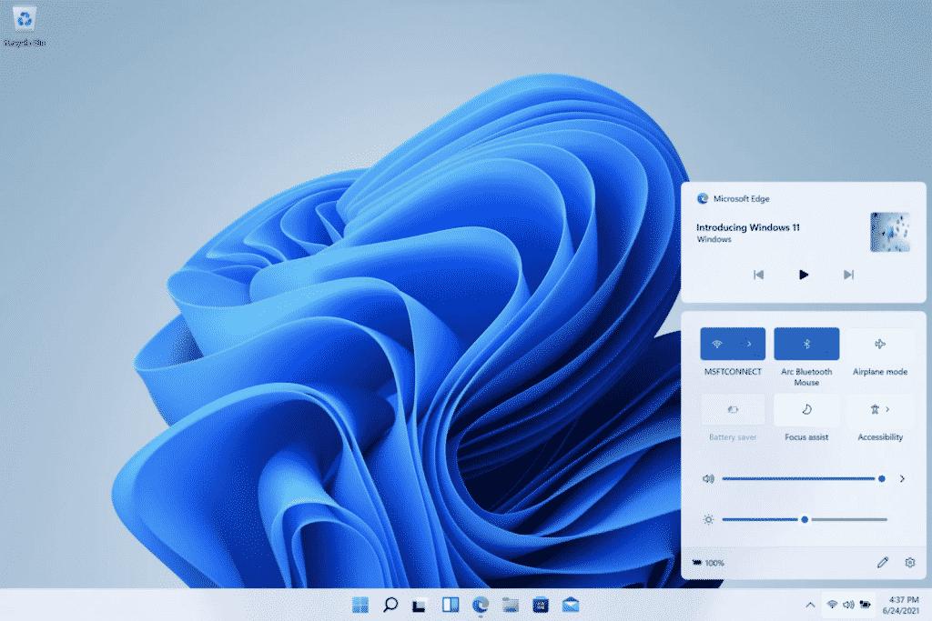 New media controls in Windows 11 (Photo courtesy: Microsoft)