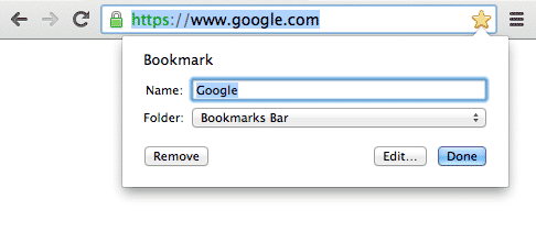 import and export chrome bookmarks