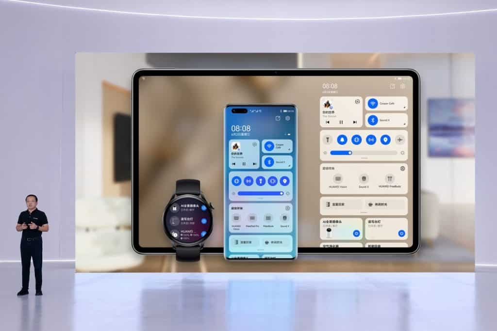 Huawei officially launches its own operating system, HarmonyOS, on its devices