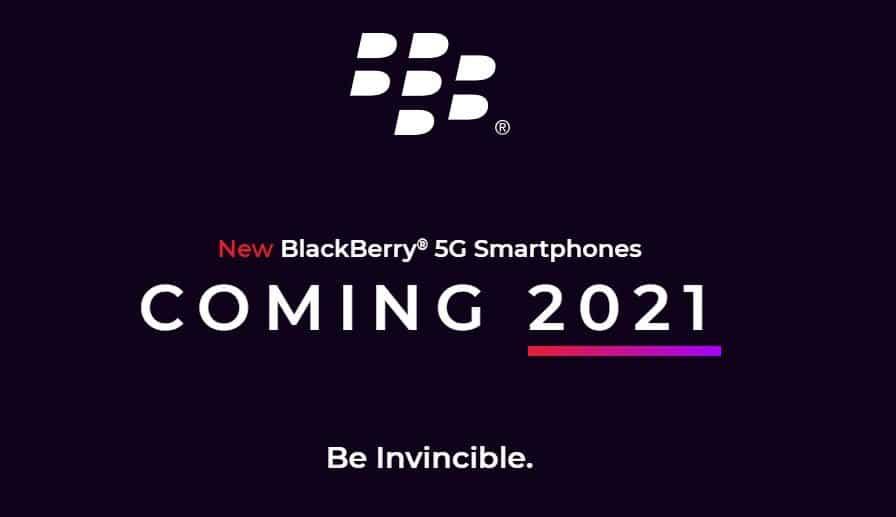 BlackBerry smartphones make a comeback