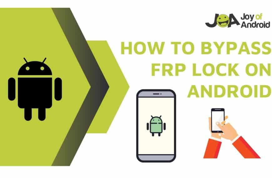 How To Bypass FRP Lock On Android Device