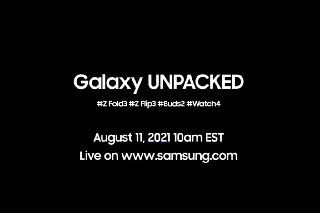 Samsung Unpacked event this Aug 11 will show off its new foldable devices