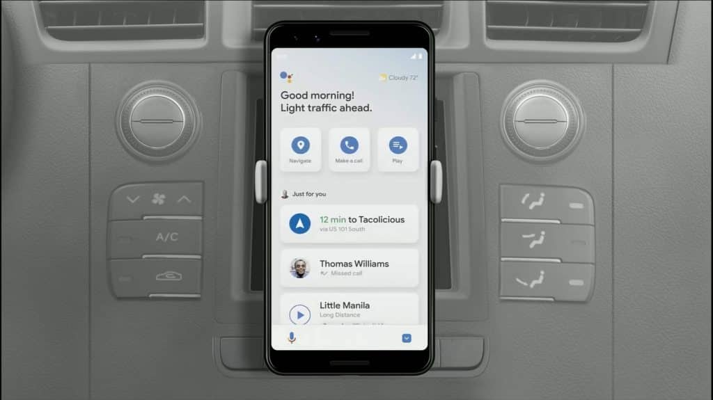 Google is ending Android Auto on phone screens, to switch to Assistant Driving Mode