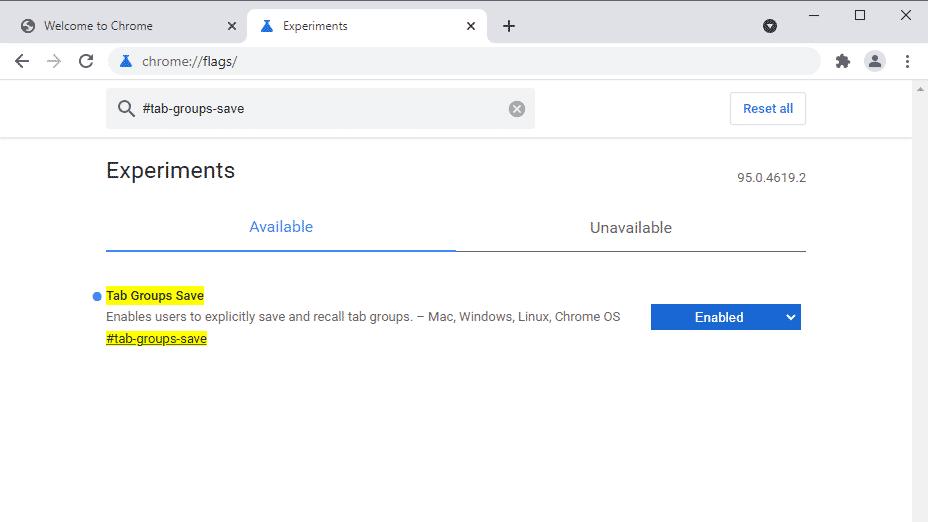 Chrome Canary experimental flags