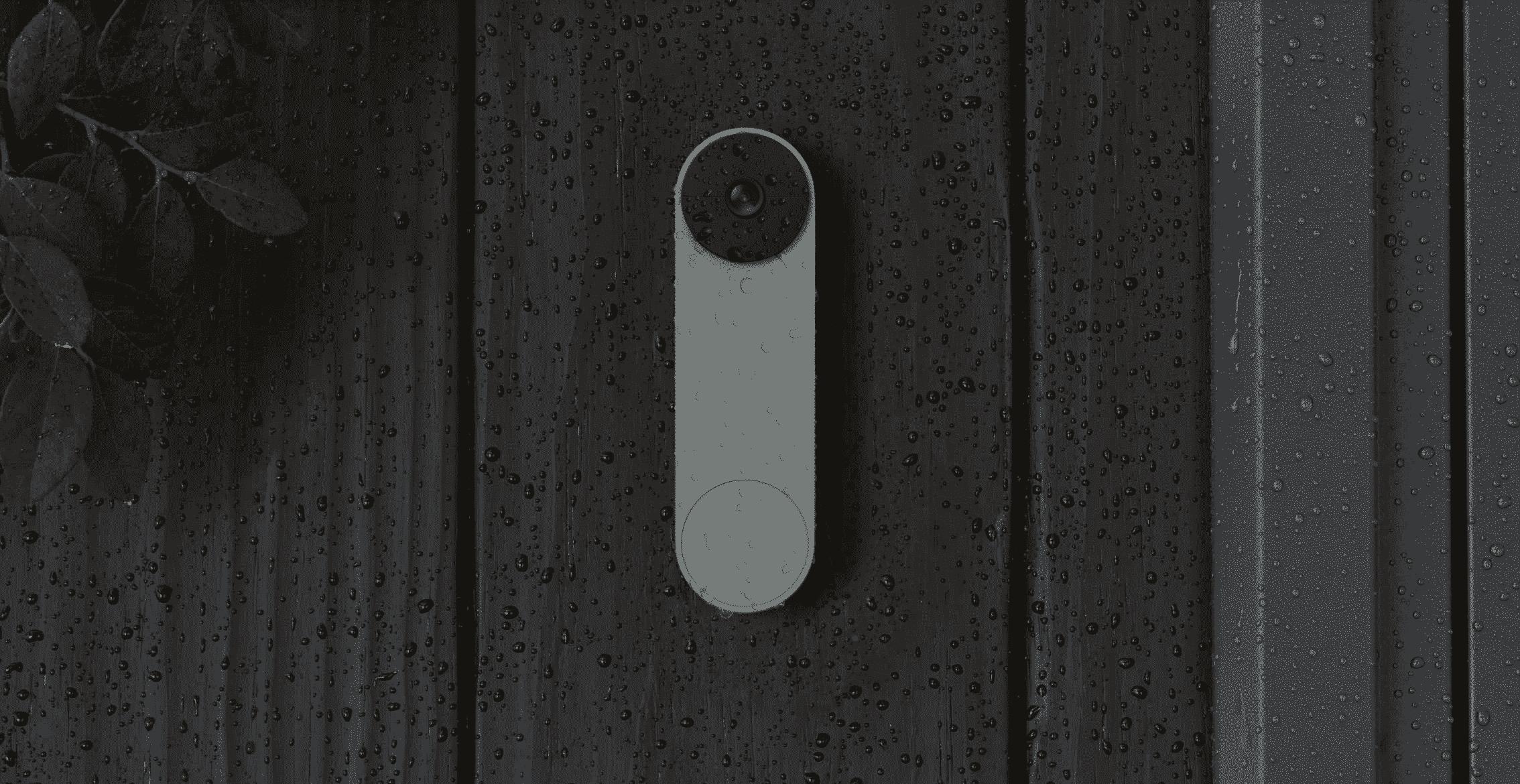 The new battery-powered Nest Doorbell
