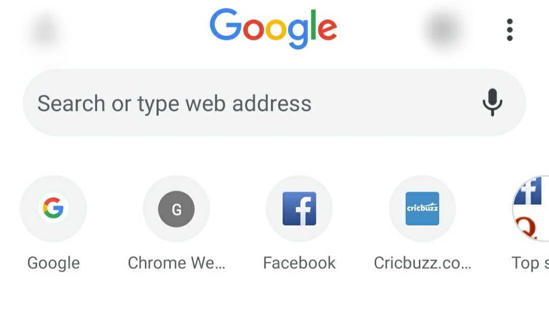 google shortcuts