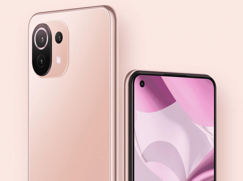 Xiaomi 11T Lite 5G NE in Peach Pink